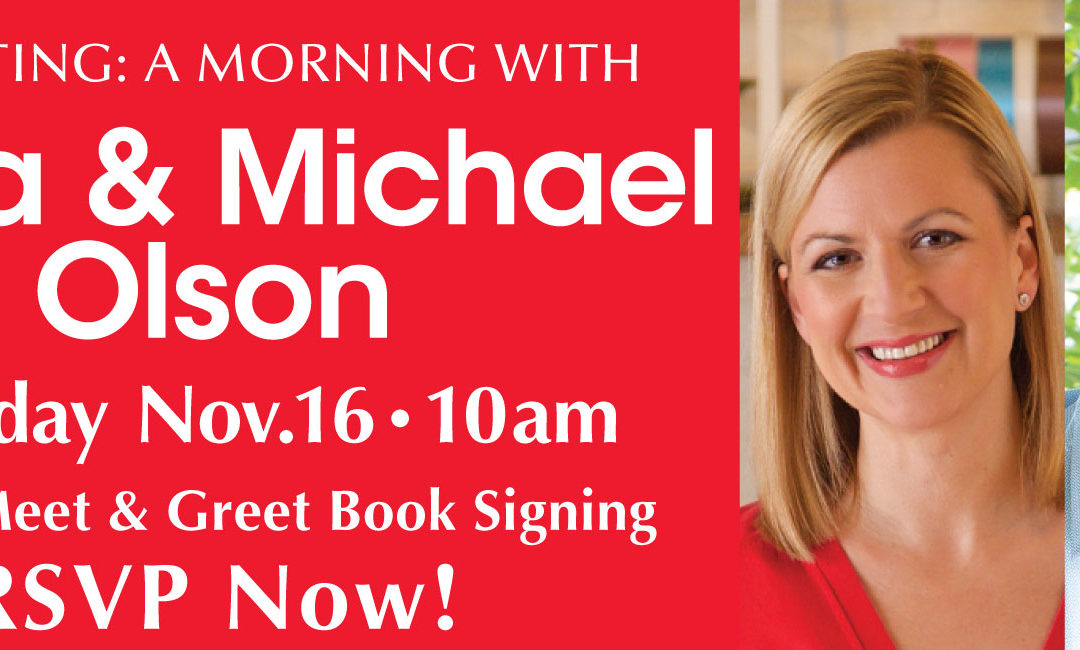 Presenting: A Morning with Anna & Michael Olson